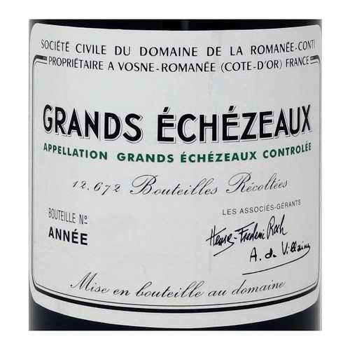 DRC Domaine de la Romanee-Conti Grands Echezeaux