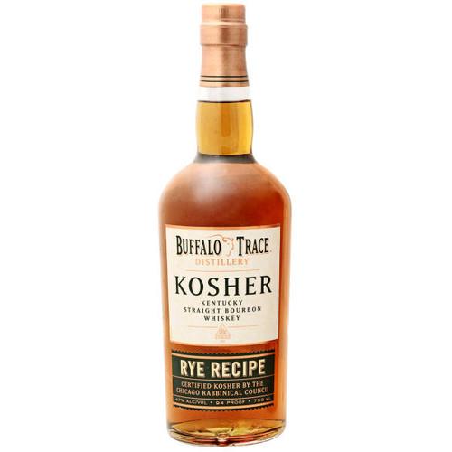 Buffalo Trace Kosher Rye Recipe Kentucky Straight Bourbon Whiskey 750ml