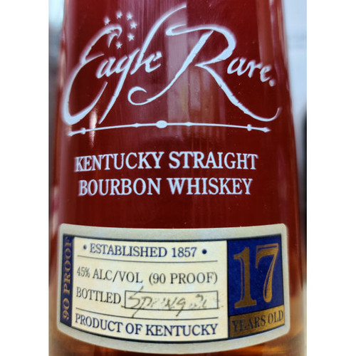 Eagle Rare 17 Year Old Kentucky Straight Bourbon Whiskey 750ml