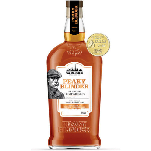 Sadler's Peaky Blinder Blended Irish Whiskey 750ml