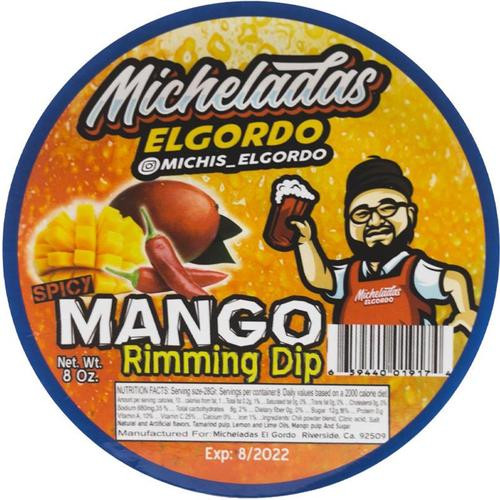 Micheladas El Gordo Spicy Mango Rimming Dip 8oz