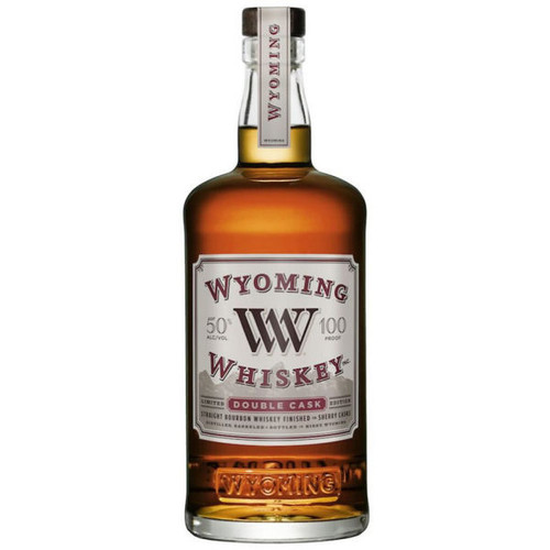 Wyoming Whiskey Double Cask Straight Bourbon Whiskey 750ml