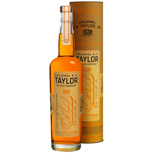 Colonel E.H. Taylor Jr. 18 Year Old Marriage Kentucky Straight Bourbon Whiskey 750ml