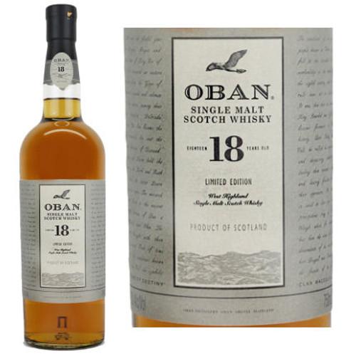 Oban 18 Year Old Highland 750ml