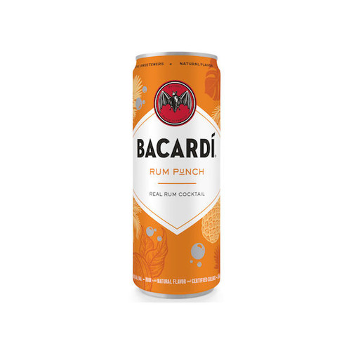Bacardi Rum Punch Ready To Drink Cocktail 355ml 4-Pack