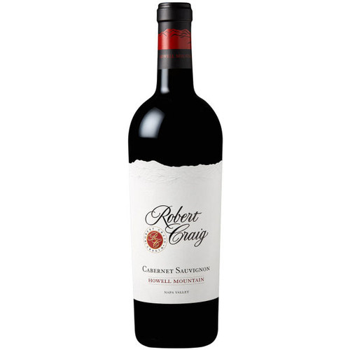 Robert Craig Howell Mountain Napa Cabernet