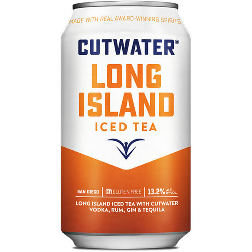Cutwater Spirits Long Island Iced Tea Ready-To-Drink 4-Pack 12oz Cans