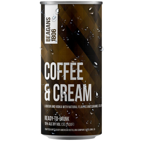 Beagens 1806 Coffee & Cream Ready To Drink Cocktail 200ml 4-Pack