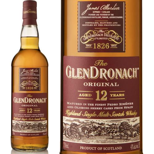 The Glendronach 12 Year Old Highland 750ml