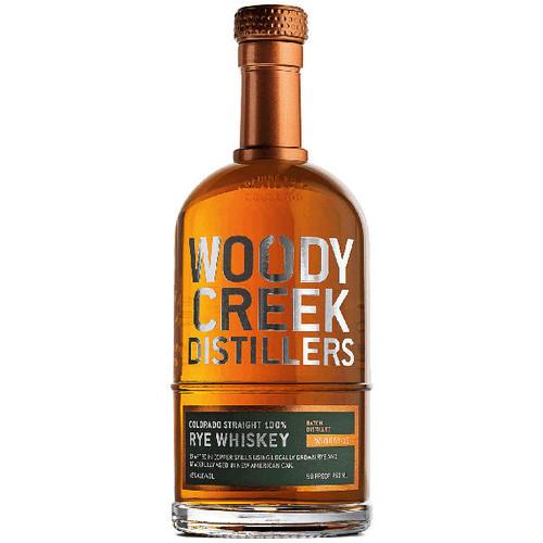 Woody Creek Distillers Colorado Straight Rye Whiskey 750ml