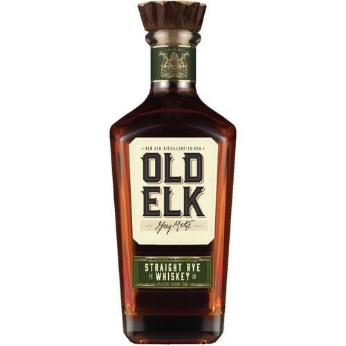 Old Elk Straight Rye Whiskey 750ml