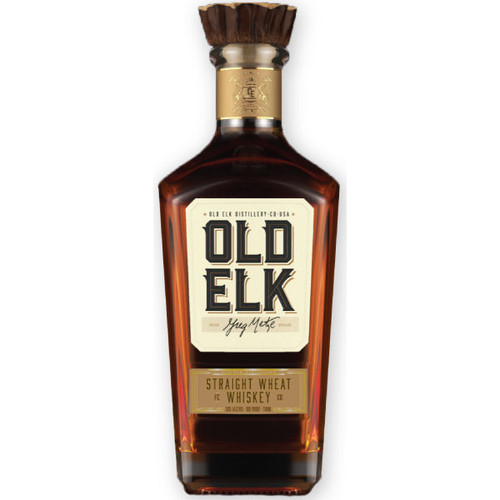 Old Elk Straight Wheat Whiskey 750ml