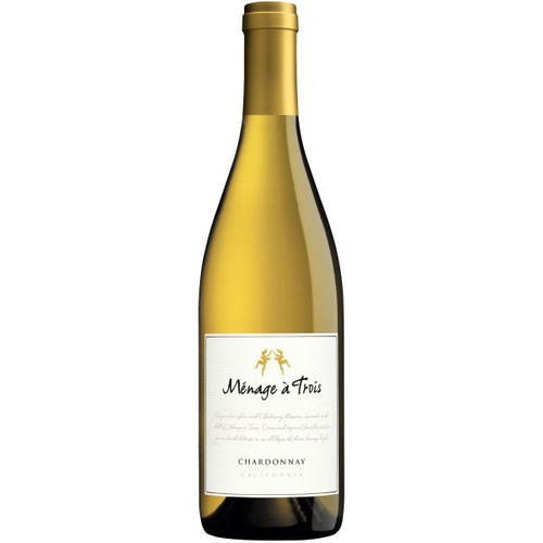Menage a Trois California Chardonnay