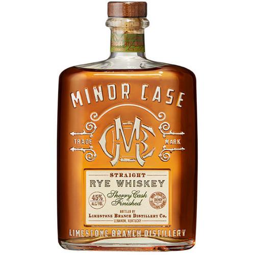 Minor Case Sherry Cask Straight Rye Whiskey 750ml
