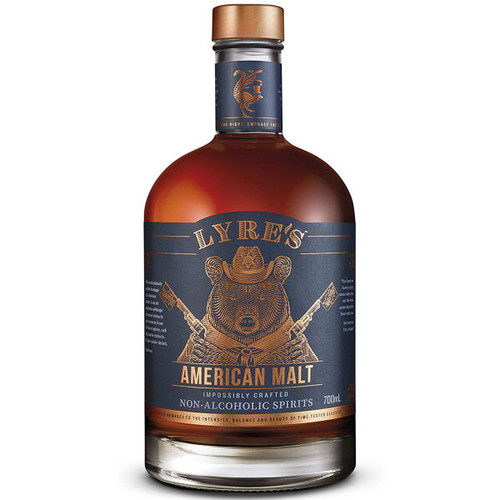 Lyre's American Malt Impossibly Crafted Non-Alcoholic Spirit 700ml