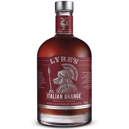 Lyre's Italian Orange Impossibly Crafted Non-Alcoholic Spirit 700ml