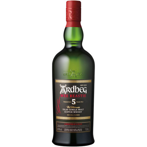 Ardbeg Wee Beastie 5 Year Old Islay Single Malt Scotch 750ml
