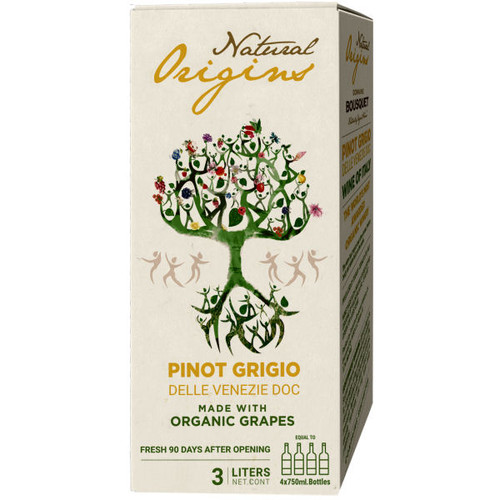 Domaine Bousquet Natural Origins Organic Pinot Grigio Bag-In-Box