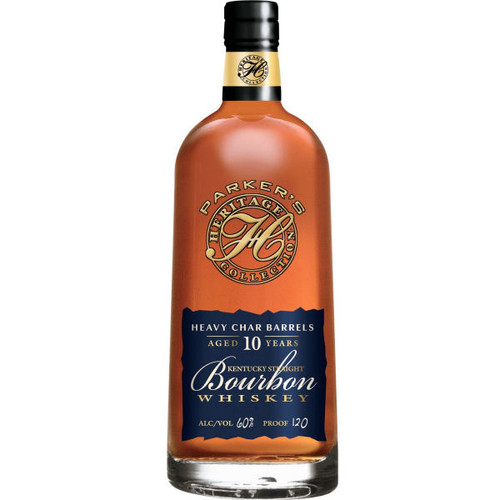 Parker's Heritage Collection Heavy Char Barrels 10 Year Old Kentucky Straight Bourbon Whiskey 750ml856160000011