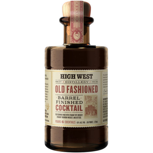 High West Old Fashioned Cocktail 375ml
