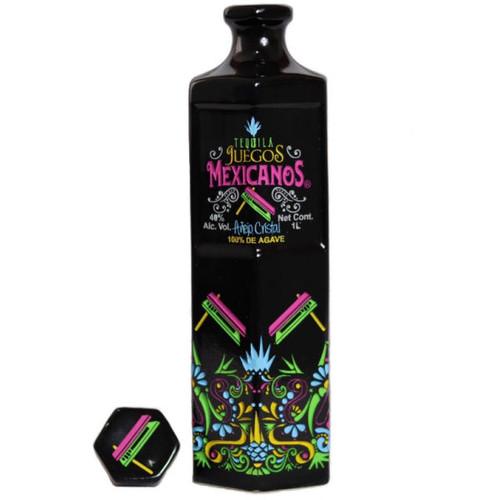Juegos Mexicanos Anejo Cristal Tequila 1L