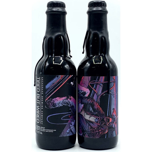 Anchorage Brewing Tired But Wired Imperial Stout 375ml