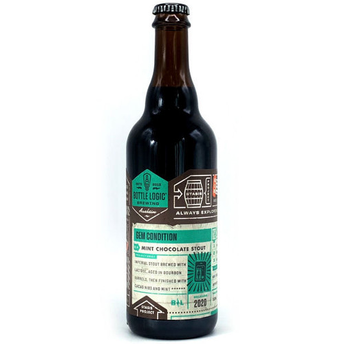 Bottle Logic Gem Condition Barrel-Aged Mint Chocolate Stout 2020 500ml