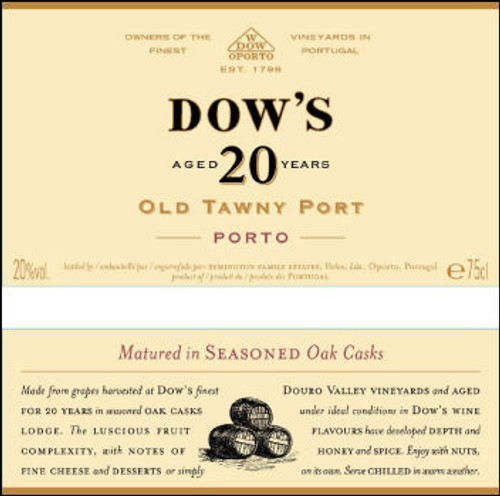 Dow's 20 Year Old Porto