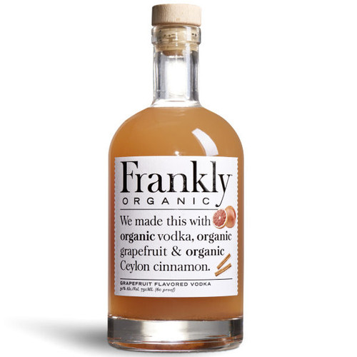 Frankly Organic Grapefruit Vodka 750ml