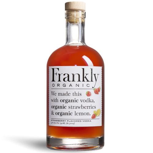 Frankly Organic Strawberry Vodka 750ml