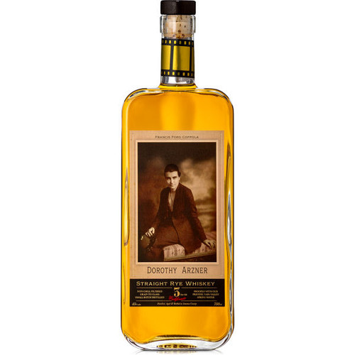 The Coppola Family Dorothy Arzner 3 Year Old Straight Rye Whiskey 750ml