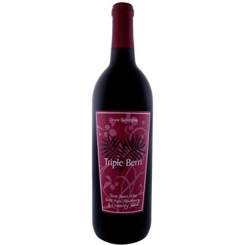 Grove Selections Semi-Sweet Triple Berri Wine NV