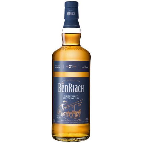 The BenRiach 21 Year Old Speyside Single Malt Scotch 750ml