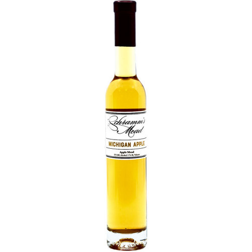 Schramm's Michigan Apple Mead Wine 375ml