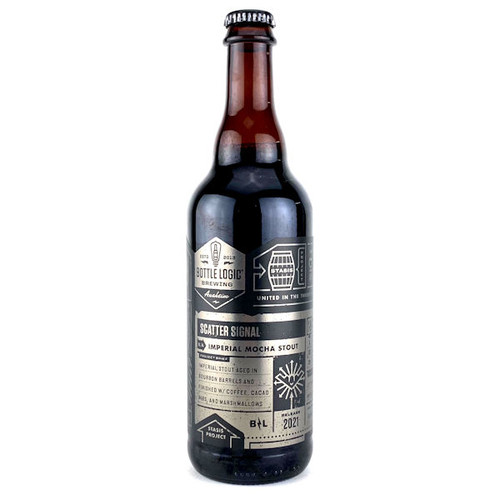 Bottle Logic Scatter Signal Barrel-Aged Imperial Mocha Stout 2020 500ml