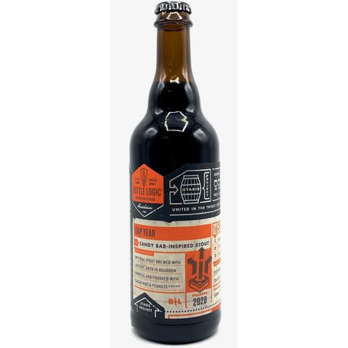 Bottle Logic Gap Year Candy Bar Inspired Barrel-Aged Stout 2020 500ml