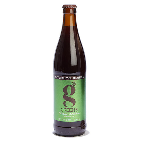 Green's Discovery Gluten Free Amber Ale 500ml