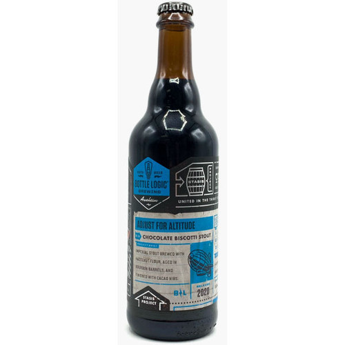 Bottle Logic Adjust For Altitude Chocolate Biscotti Stout 2020 500ml
