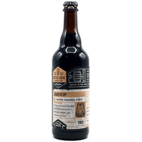 Bottle Logic Quarter Up! Barrel-Aged Salted Caramel Stout 2021 500ml