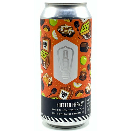 Bottle Logic Fritter Frenzy Imperial Stout w/ Apples & Vietnamese Cinnamon 16oz Can