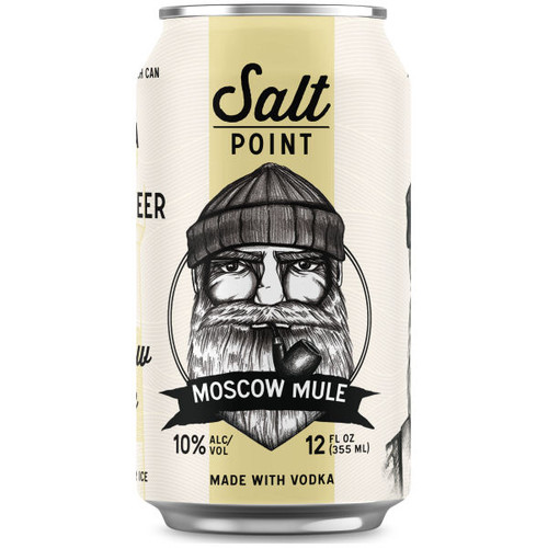 Salt Point Vodka Moscow Mule Ready-To-Drink 4-Pack 12oz Cans