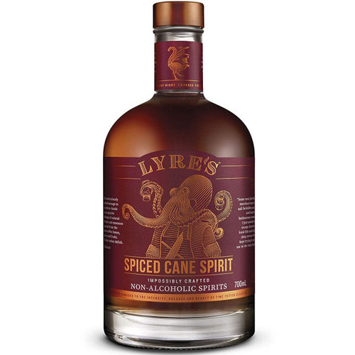 Lyre's Spiced Cane Spirit Impossibly Crafted Non-Alcoholic Spirit 700ml