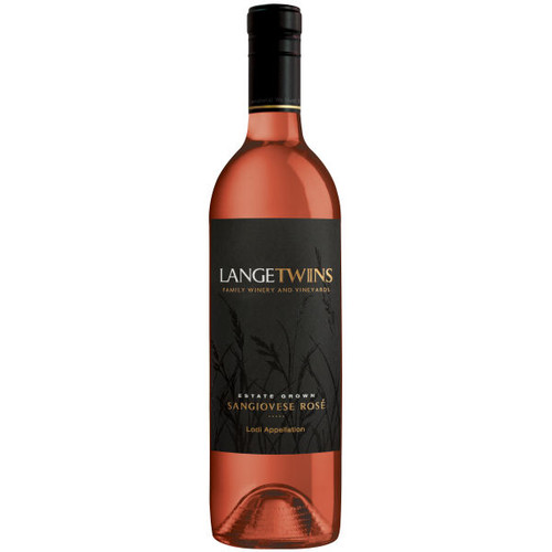 LangeTwins Estate Lodi Rose Sangiovese