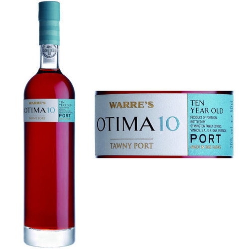 Warre's Otima 10 Year Old Tawny Port 500ML