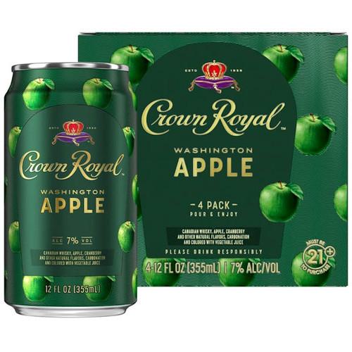 Crown Royal Washington Apple 4-Pack 12oz Cans