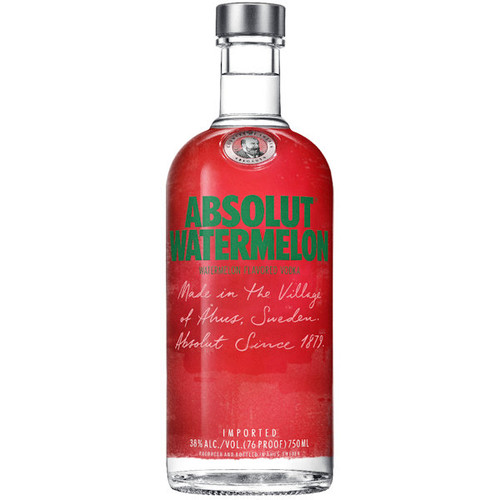 Absolut Watermelon Vodka 750ml