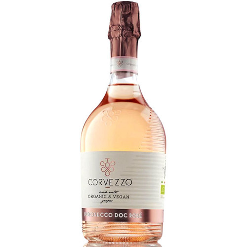 Corvezzo Organic and Vegan Prosecco Rose DOC