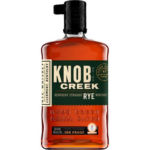 Knob Creek Kentucky Straight Rye Whiskey 100 Proof 750ml