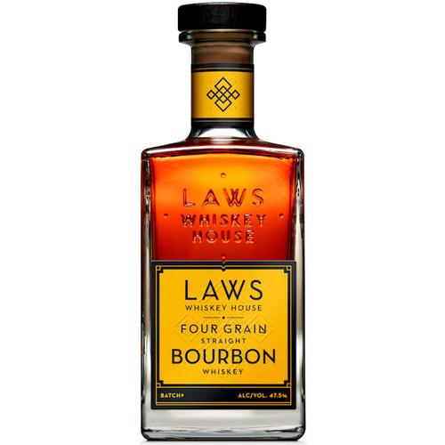 Laws Whiskey House Four Grain Straight Bourbon Whiskey 750ml