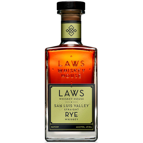 Laws Whiskey House San Luis Valley Straight Rye Whiskey 750ml